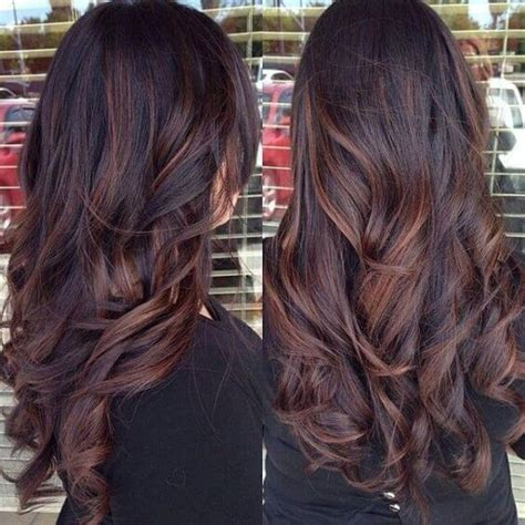 black hair with chocolate brown highlights 25 best hairstyle ideas for brown hair with highlights