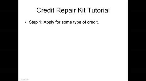 Credit Letter Parts Credit Repair Dispute Letter Kit Tutorial Part Two