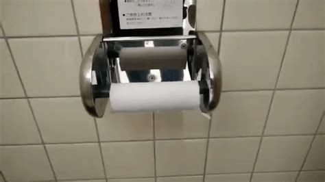clever toilet paper holders a clever japanese toilet paper holder that lets you to