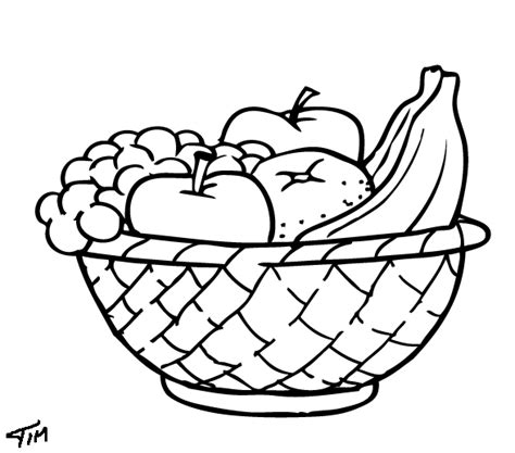 lesson plans for teachers fruits coloring pages sheets
