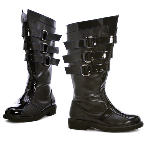 mens black darth boots costume craze