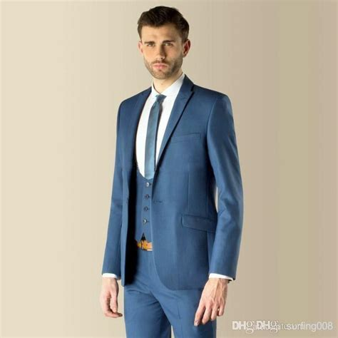 jacket pants vest tie Mens Suits Wedding Groom Fashion