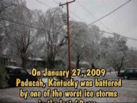paducah ice storm youtube