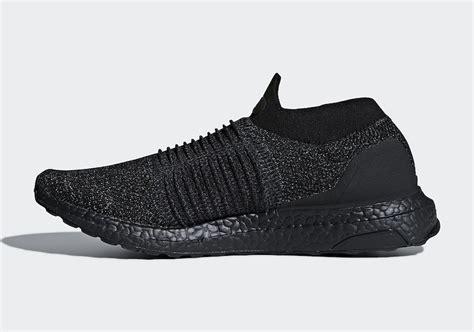 adidas ultra boost laceless adidas ultra boost laceless triple black bb6222 sneaker