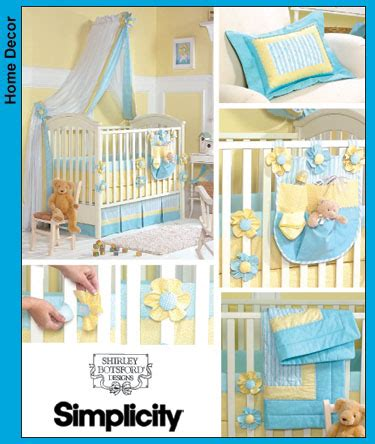 Baby Bedding Patterns To Sew Simplicity 3795