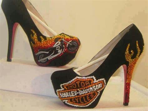 Harley Davidson High Heels harley davidson high heels shoes soa and biker things