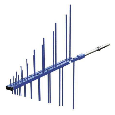 teseq upa 6109 log periodic antenna 200mhz to 1ghz the emc shop