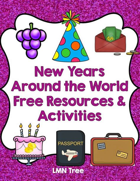 new year traditions and activities 200 best new years in the classroom images on