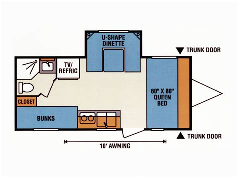 spree rv floor plans road test spree escape 196s rv magazine