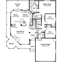 2 Story House Plans With Master On Main Floor by Love This Small House Main Floor Plan Wrap Around Porch