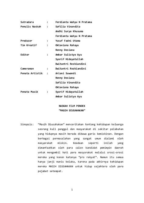 Naskah Drama Versi Pendek - Tweeter Directory