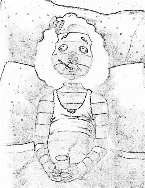 A Bad Of Stripes Coloring Page a bad of stripes coloring page coloring home