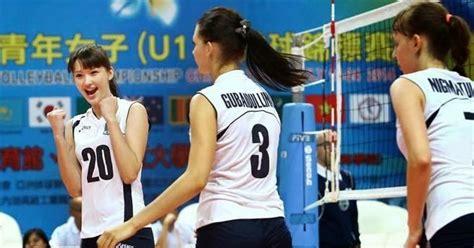 sabina altynbekova pemain volly cantik dari kazakhstan foto gambar