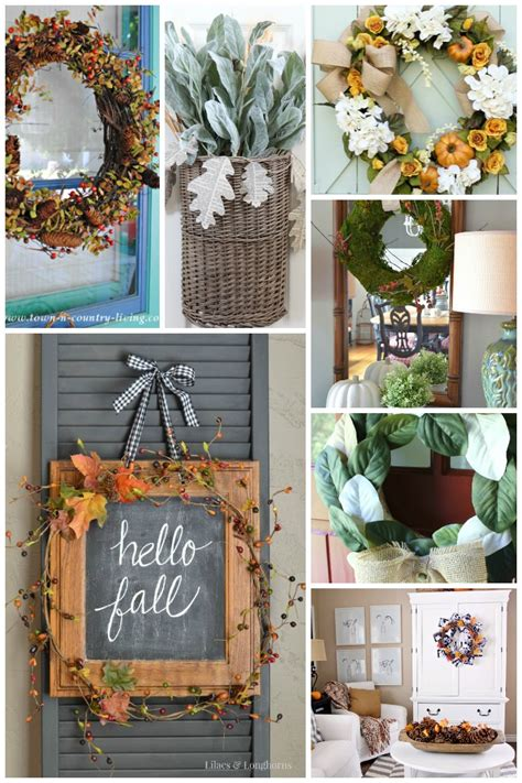 diy fall wreaths front door 7 fabulous fall wreath ideas for your home setting for four