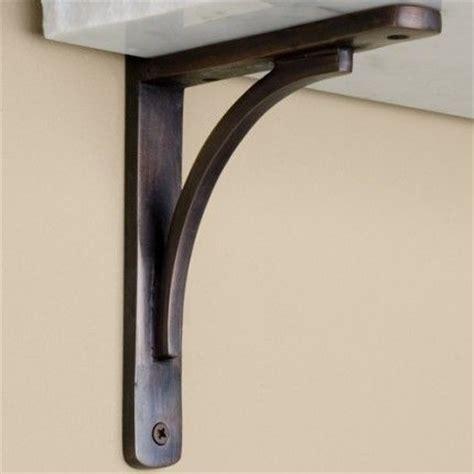 Rustic Shelf Brackets by Rustic Brass Shelf Bracket Home Ideas Inspirations