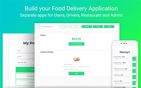 Food Delivery Like Uber Eats New Template From Zeroqode Templates Zeroqode Forum Uber Like App Template