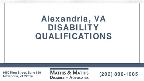 Social Security Office Alexandria Va by Alexandria Va Disability Qualifications Authorstream