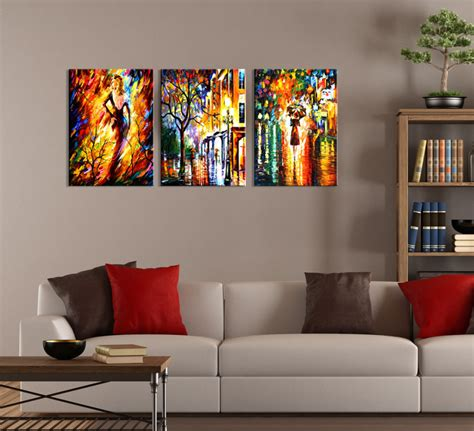 modern wall painting ideas wall ideas design colorful abstract three wall