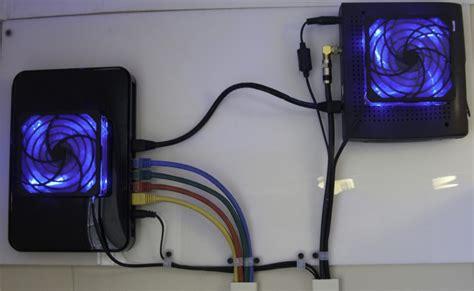 netgear wndr cooling modifications modem cooling total geekdom