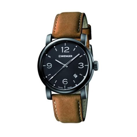 Swiss Army Leather Darkbrownbest Seller wenger mens swiss army brown leather black