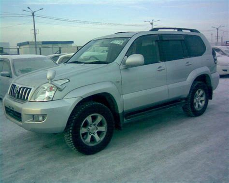 land cruiser prado car 2003 toyota land cruiser prado photos