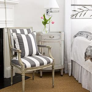 Gray And White Striped Chair Frame Fanatic Motivational Monday Decorating With Gray