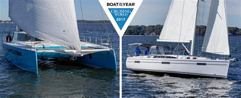 sailing boat of the year 2017 cruising world announces 2017 boat of the year winners