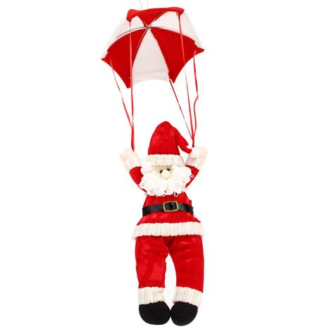 christmas decoration parachute parachute santa claus and