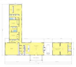 Cabin Designs And Floor Plans one story l shaped house plan remarkable five bedroom