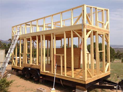Tiny House Blueprints by La Construction D Une Tiny House