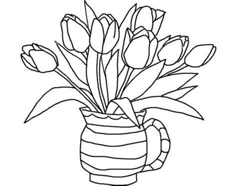 gambar sketsa kumpulan gambar sketsa bunga
