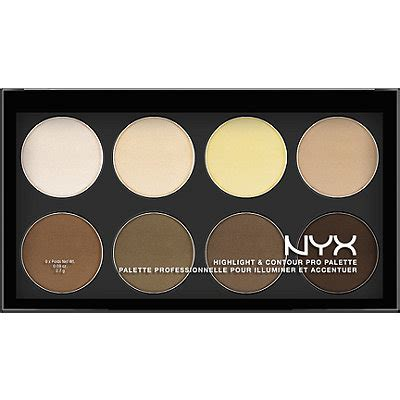 Nyx Contour Kit how to contour according to your shape influenster