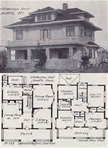 American Foursquare House Plans Type Of House American Foursquare House
