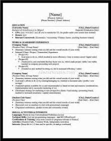 resume template high school graduate new graduate practitioner resume exle