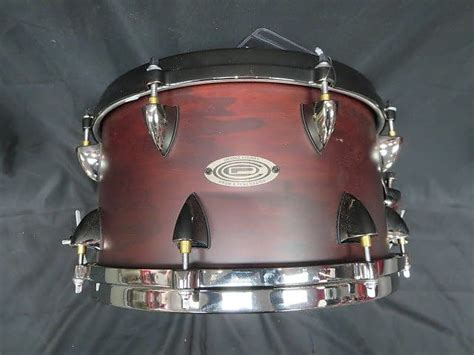 orange county drums    wood snare drum reverb