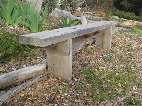 build simple outdoor bench how to build simple garden benches for free flea market