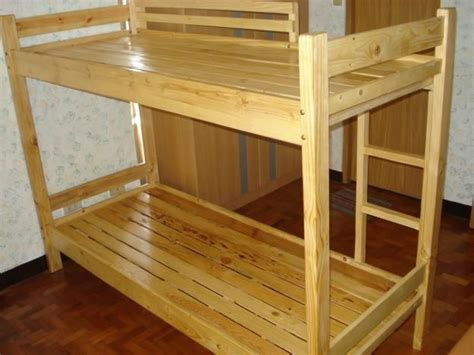 neat recycled pallet bunk bed handy ideas pinterest