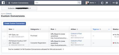 fb converter facebook pixel uuenenud remarketing lahendus facebooki