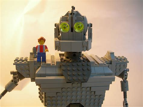 film robot lego the iron giant great animated film toy collectibles