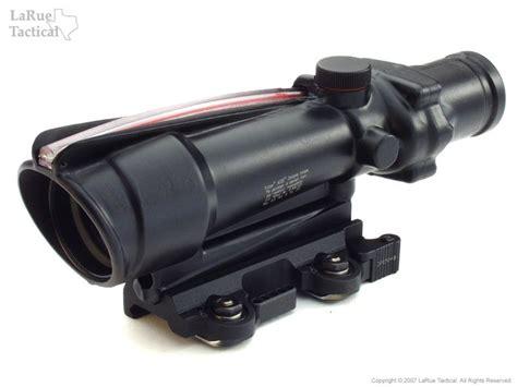 larue tactical acog mount qd lt100 larue tactical trijicon ta11f acog 3 5x35 scope with red chevron bac