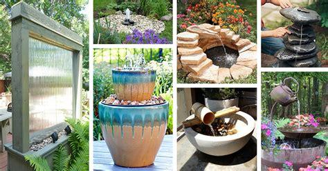 diy water feature ideas  designs