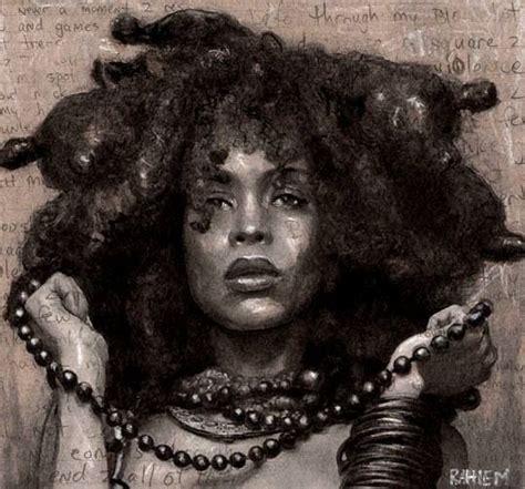 black queen art african american art beautiful black nubian queen