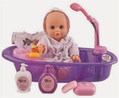 baby doll for bathtub all things children little baby 13 quot bathtime doll bath