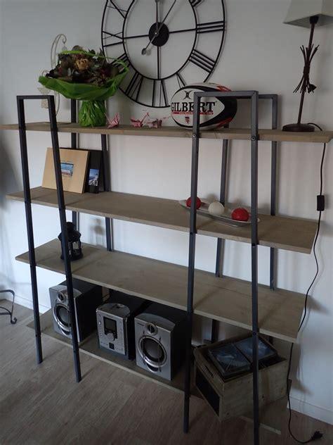 Fabriquer des étagères style industriel à partir d