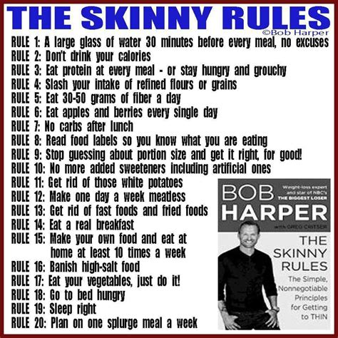 Why You Should Say NO to The Skinny Rules & YES to Being