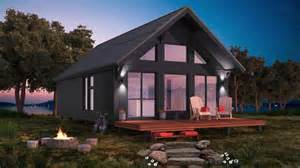 Micro Cottage House Plans h 212 m par habitaflex expo promotion