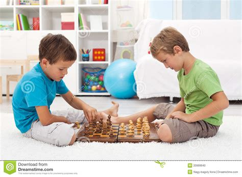 In Their Room chess in their room stock photo image 20999940