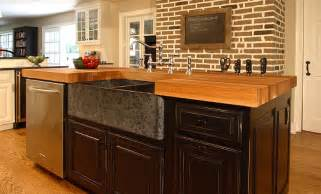 kitchen island counters oak wood kitchen island counter in bryn mawr pennsylvania