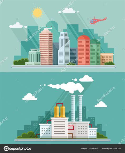 flat layout photography 플랫 디자인의 세트입니다 도시 풍경 일러스트 다운 등 스톡 벡터 169 subjob 131971412