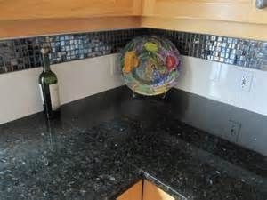 backsplash for uba tuba granite countertops uba tuba granite counter top w glass mosaic and subway
